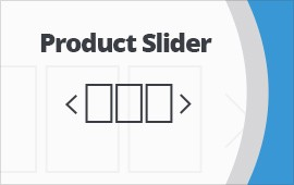Product slider for magento