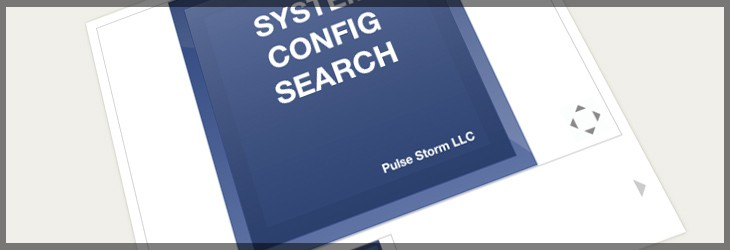 System Configuration Search