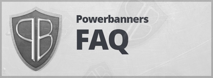 Powerbanners - responsive banner slider magento extension FAQ