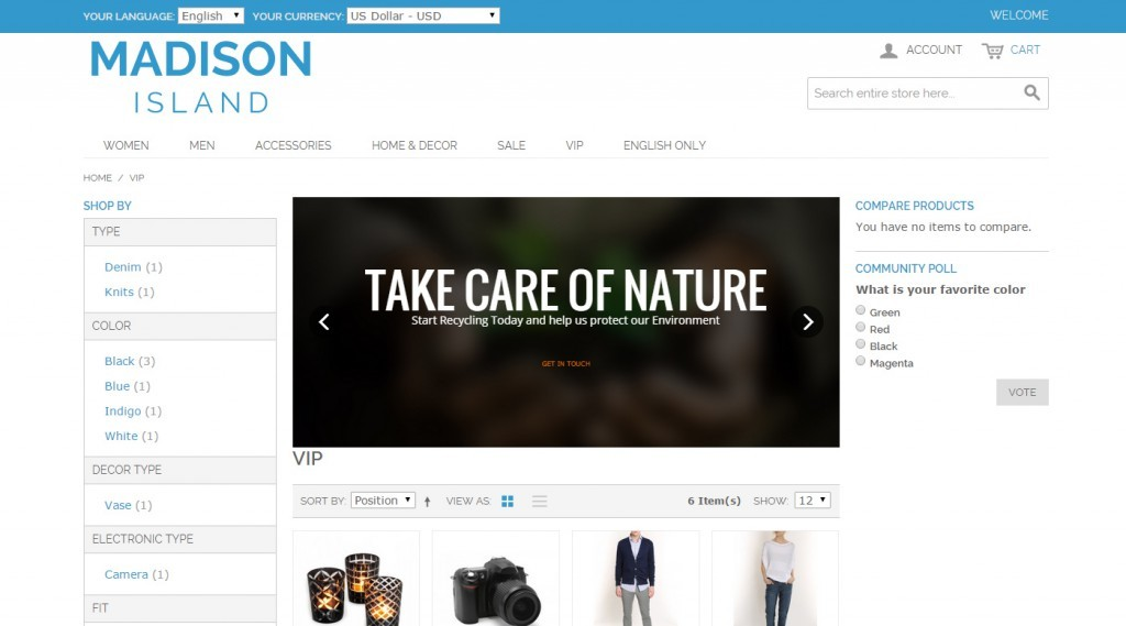 Slider Revolution - different slideshow for category