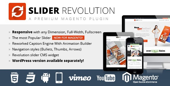 Slider Revolution Responsive Magento Extension