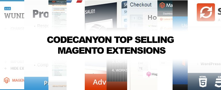 Codecanyon Top Selling Magento Extensions