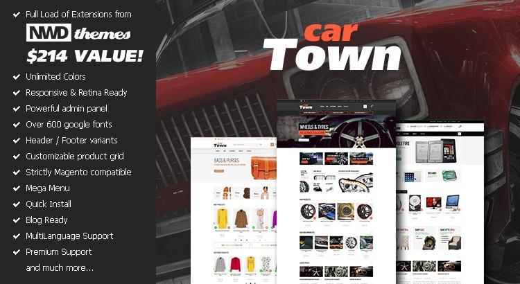 Cartown Premium Responsive Magento Theme