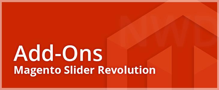 Magento Slider Revolution Add-Ons