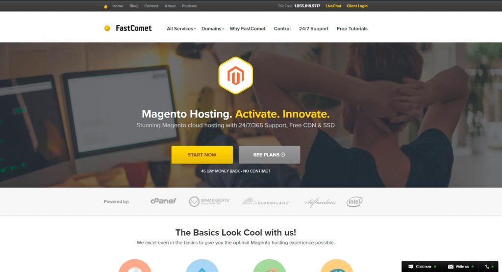 magento hosting fastcomet