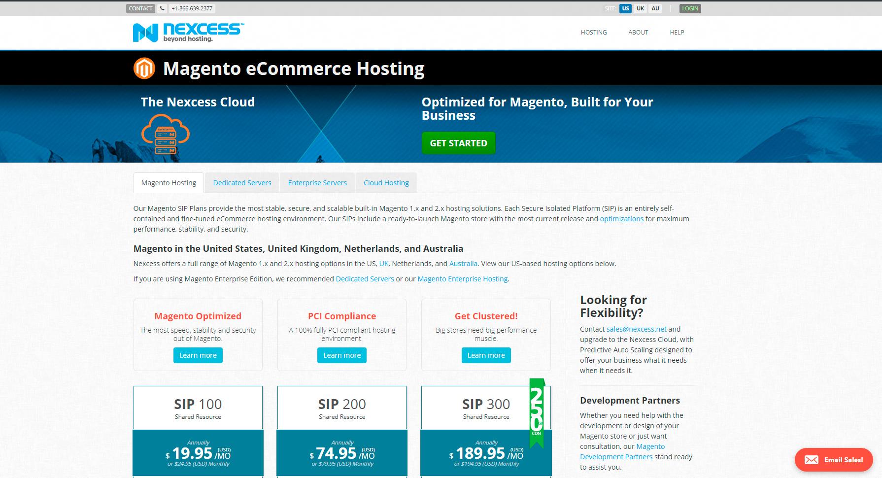 magento hosting nexcess