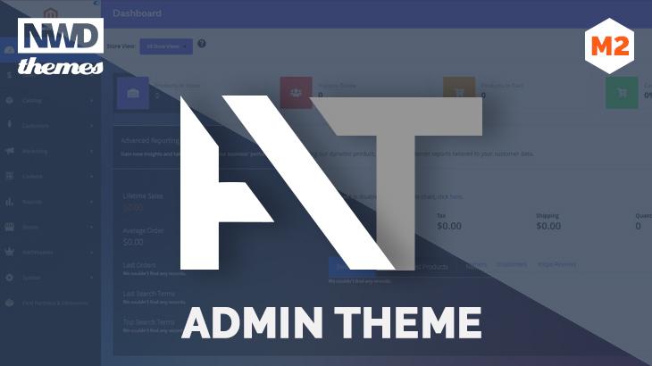 Magento 2 Admin Theme